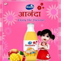 Enjoy the #Gopaljee Ananda Flavoured milk - #MangoMilk