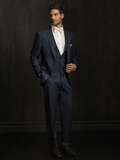 Classic grooms suits by Jean Aves from Allure Men | Rustic Folk Weddings