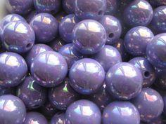 20mm Purple AB Bubblegum Beads, Gumball Beads, Chunky Beads, Acrylic Beads, 20mm Beads, 20mm Chunky Beads, Resin Beads, Chunky Necklace