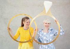 Tutorial: un divertido y original photocall con anillos