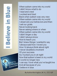 I Believe in Blue from Hearts and Minds on Facebook