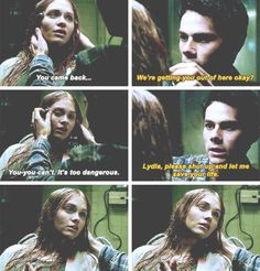 #teenwolf #5x16 • Lie Ability • Stiles & Lydia