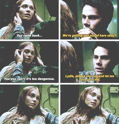 #teenwolf #5x16 • Lie Ability • Stiles & Lydia