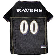Baltimore Ravens Officially Licensed Dog Jersey - Black
