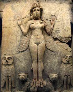 inana-ishtar-lilith.jpg - Diosa del Amor y de la Guerra