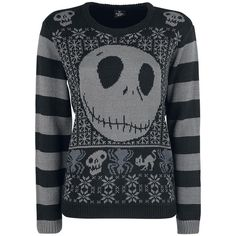 The Nightmare Before Christmas Weihnachtspullover ❤ liked on Polyvore featuring sweaters