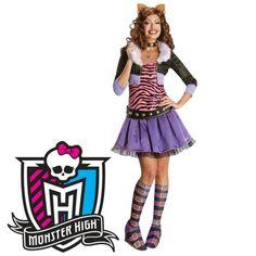 Disfraz #Clawdeen #Wolf Monster High adulta Perfecto para tus fiestas, mercadisfraces tú #tienda de #disfraces #online
