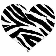 Zebra Animal Print Heart car bumper sticker x Heart Coloring Pages, Printable Coloring Pages, Coloring Sheets, Stencil Patterns, Stencil Templates, Wood Burning Stencils, Lion King Art, Heart Template, Shirt Print Design