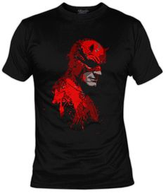 Camiseta El demonio ciego, Camisetas Series Actuales - Camisetas Frikis, Camisetas Television, Fanisetas, Uno de los personajes mas interesantes de Marvel tiene nueva serie y lo celebramos con este diseño..