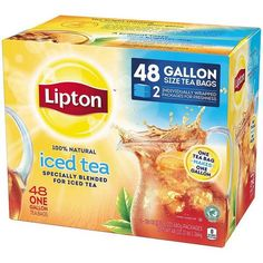 Lipton Iced Tea, Gallon Size Tea Bags (48 ct.) - Sam's Club
