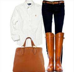 Riding attire