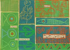 An interpretation of found poetry by New Zealand artist Tracey Tawhiao. Art Lessons, Life Lessons, Found Poetry, New Zealand Art, Jr Art, Maori Art, People Art, Contemporary Artists, Design Elements