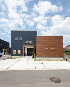 Best 35 Home Decor Ideas - Lovb Metal Building Homes, Metal Homes, Building Design, Shop Buildings, Metal Buildings, Fasade Design, Aquarium Shop, Industrial Sheds, Retail Architecture