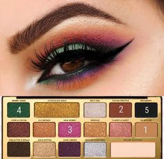 Get Great Skin With These Awesome Skin Care Tips - Beauty & Skincare Tips Too Faced Eyeshadow, Blending Eyeshadow, Eyeshadow Looks, Eyeshadow Makeup, Eyeshadows, Fancy Makeup, How To Do Makeup, Gorgeous Makeup, Love Makeup