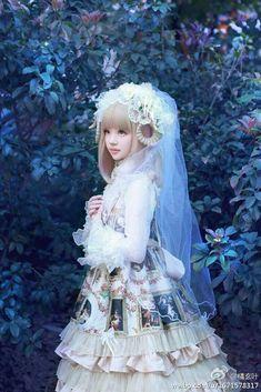 Princesse élégant Chapeaux de Paille Handwork kawaii japonais Lolita Bow Accessoires
