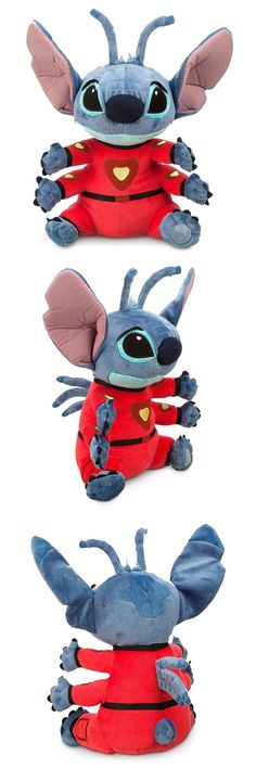 Lilo and Stitch 44035: Disney Store Stitch In Spacesuit Plush Doll Lilo And Stitch Medium 16 Inch Gift -> BUY IT NOW ONLY: $39.95 on eBay!
