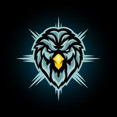 Eagle Head E Sports Logo Design Vector Illustration PNG and Vector Wolf Silhouette, Corporate Logo Design, Florist Logo, Camera Logo, Butterfly Logo, Eagle Head, Abstract Logo, Logo Design Template, Modern Logo