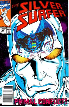 Silver Surfer 1987 2nd Series 49 May 1991 Issue  by ViewObscura