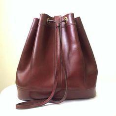 Hermes Vintage Bucket Shoulder Bag $621