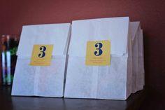 POW! Superhero Birthday Party Ideas - Favor bags
