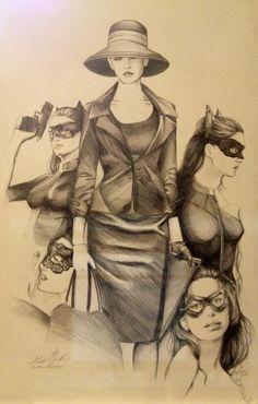 Anne Hathaway as Catwoman in Batman the Dark Night Rises by hunter-wa.deviantart.com