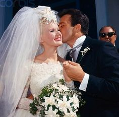 Connie Stevens and James Stacy wedding