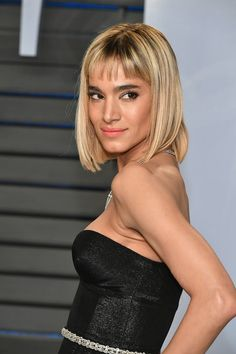 Sofia Boutella Photos - Sofia Boutella attends the 2018 Vanity Fair Oscar Party hosted by Radhika Jones at Wallis Annenberg Center for the Performing Arts on March 4, 2018 in Beverly Hills, California. - 2018 Vanity Fair Oscar Party Hosted By Radhika Jones - Arrivals