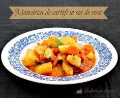 Romania Food, Sweet Potato, Cantaloupe, Vegetarian Recipes, Food And Drink, Potatoes, Vegan, Fruit, Vegetables