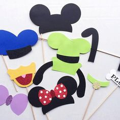 Mickey Mouse, Mickey Mouse Clubhouse, birthday party, photo prop