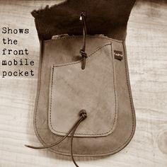 SALE Handmade vegan pouch belt bag Bohemian Fairy от Fairysteps