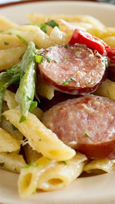 Skillet Pasta with Sausage Recipe