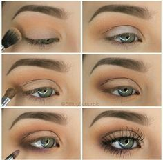 50 perfekte Make-up-Tutorials für grüne Augen 50 makeup tutorials for green eyes -Simple Pretty Eye Shadow Tutorial – amazing green eye makeup tutorials for work for prom for weddings for every day easy step by step diy guide for beautiful natural look- t Eyeshadow Tutorial For Beginners, Makeup For Beginners, Beginner Makeup Tutorial, Easy Eyeshadow Tutorial, Natural Eyeshadow Tutorials, Eye Makeup Tutorials, Makeup Tutorial Step By Step, Eye Shadow For Beginners, Lip Tutorial