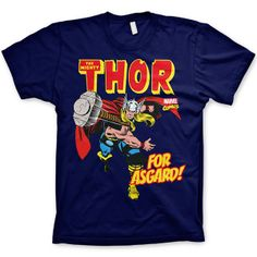 Official Marvel Comics t-shirt - Thor For Asgard from 8Ball.co.uk