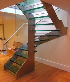 modern staircase 634x739 15 Modern Staircases For Your Home