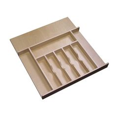 Rev-A-Shelf Wooden Cutlery Tray Insert Organizer For Cabinet Drawers : Target Cutlery Drawer Insert, Wooden Cutlery Tray, Drawer Inserts, Kitchen Cabinet Drawers, Storage Cabinets, Kitchen Utensil Organization, Kitchen Utensils, Utensil Organizer, Cabinet Organizers