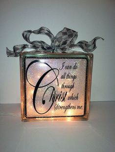 Image result for glass block crafts projects