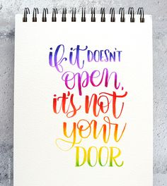 More Brush Lettering Blending with Tombow Markers (Answers to your questions) – kwernerdesign blog