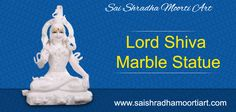 manufacture and export of Marble Shiva Statue