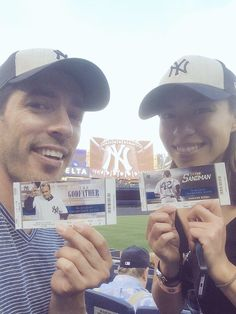 Last 2 weeks in #NYC! Had to hit a @yankees game with @_LindaPhan @MrSilverScott & my @nytimes peops! #CatchGreatness