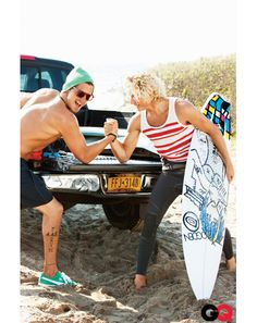 Montauk Surf Style - What to Wear to the Beach: Wear It Now: GQ