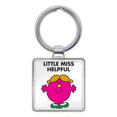 Keyring for Little Miss Helpful Raksha Bandhan Gifts, Rakhi Gifts, Online Gifts, Little Miss, Personalized Items, Stuff To Buy