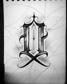 Tattoo Writing Fonts, Calligraphy Tattoo Fonts, Tattoo Lettering Alphabet, Tattoo Lettering Design, Gothic Lettering, Chicano Lettering, Graffiti Lettering Fonts, Font Art, Hand Lettering