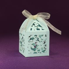 Magnolia Favor Box from Paper Orchid