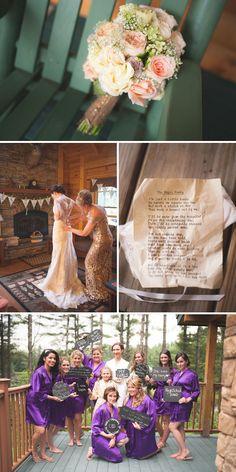 Bonnie & Corey Real Vermont Wedding Inspiration   Barn Wedding Inspiration   Vermont Bride Magazine