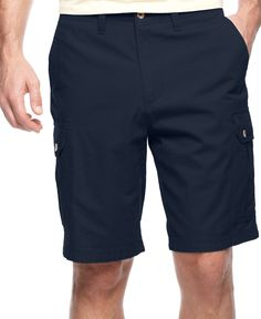 Club Room Big and Tall Ripstop Cargo Shorts