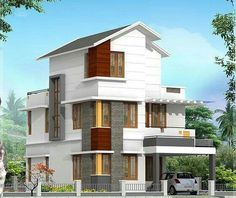 House 3D view Architecture Pinterest House D and 3d