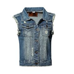 Special Offer: $28.99 amazon.com Jusian Women's Sleeveless Jeans Denim Cardigan Vest Shirt Casual Jacket Tank Tops.Jusian is a US registered trademark, we always try our best to offer our customers the great quality products with competitive price and keep improving customer...