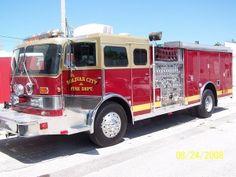 Bolivar City Fire Department, Bolivar, MO - Engine 12 - 1985 3-D #fire #setcom…