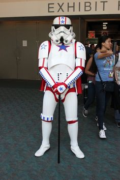 Pin for Later: 38 Epic Halloween Costume Mashup Ideas Patriotic Stormtrooper
