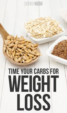 Eat carbs (at the right time) and lose weight!